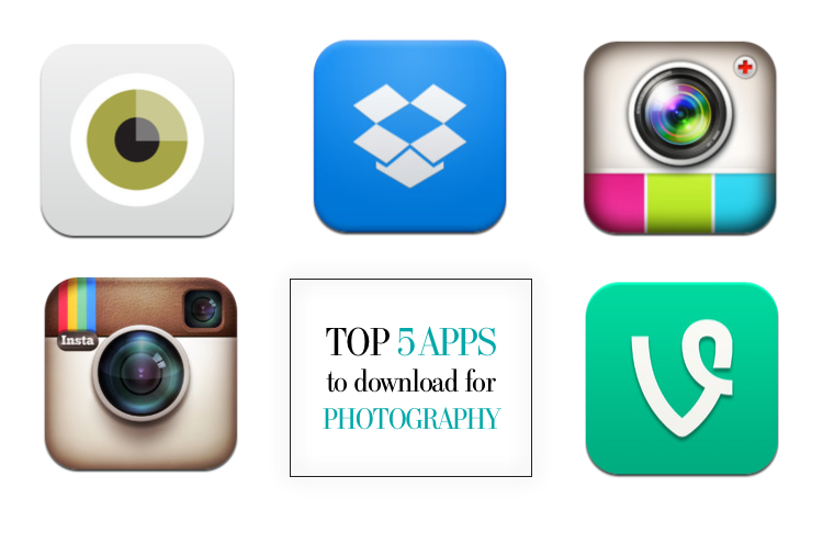 TOP 5 APPS PHOTOGRAPHY