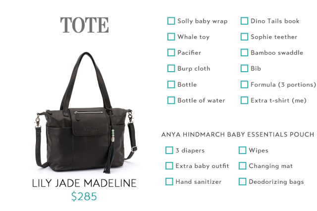 Packing For Babies Tote