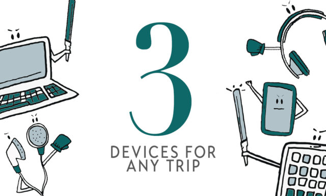 3 Devices For Any Trip Rule