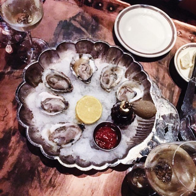 Oyster Presentation At McGrady's Tavern In Charleston