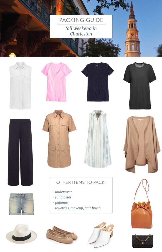 Packing Guide Charleston