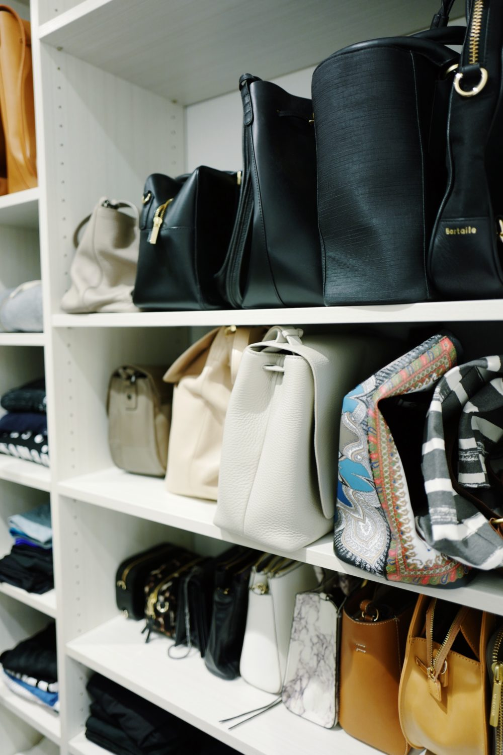 Bags Organized by Fitz