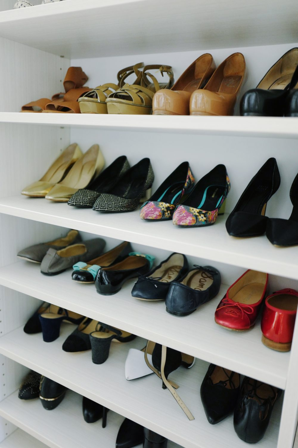 Shoes Organized By Fitz